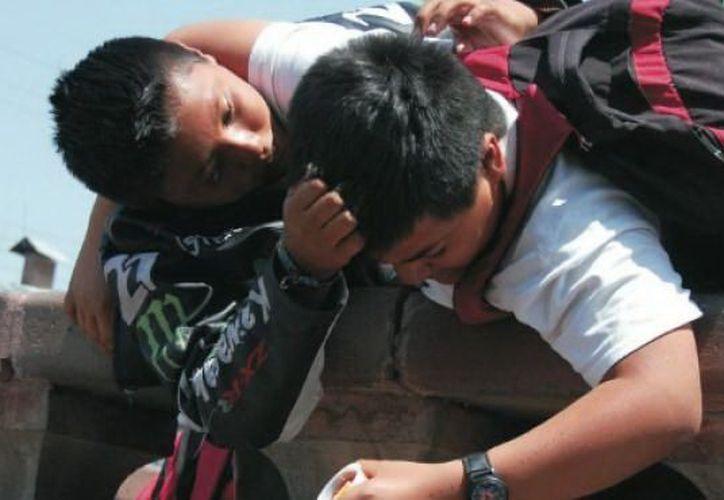 """Estudiantes yucatecos temen ser """"abusados"""" por sus compañeros. (Juan Albornoz/SIPSE)"""
