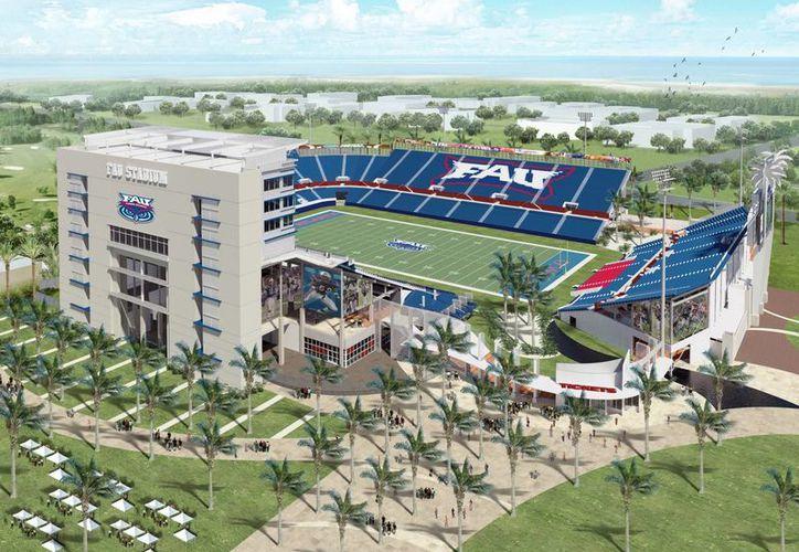 Prototipo del estadio universitario. (fausports.com)