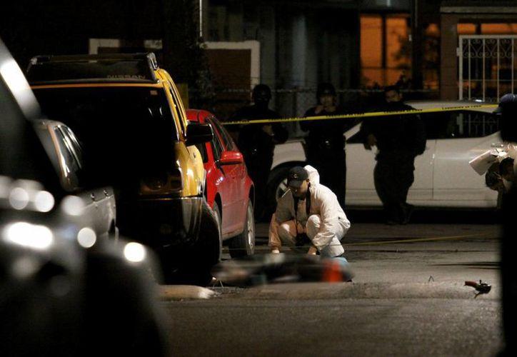 En el primer trimestre de 2016 los asesinatos ligados al narcotráfico suman dos mil 332 muertes violentas. Imagen de contexto. (proceso.com.mx)