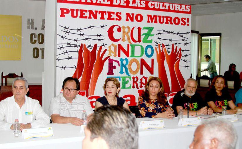 Los organizadores realizaron una conferencia de prensa en la que precisaron las diferentes actividades que se tienen programadas. (Foto: Ángel Castilla / SIPSE)