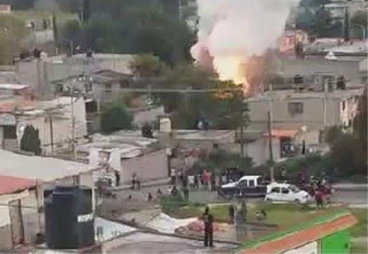Tultepec, Estado de México, es famoso por dedicarse a la fabricación de pirotecnia. (Foto: @OpEsMx/Twitter)