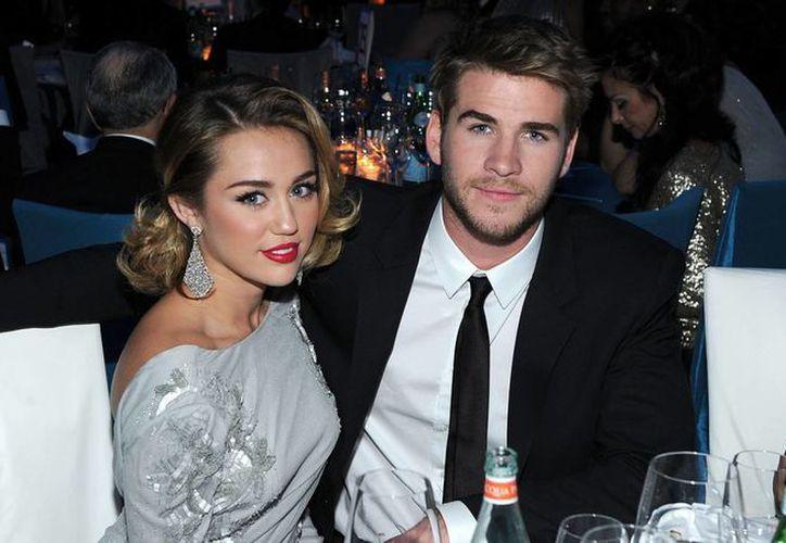 Es posible que dentro de 7 meses nazca el primer hijo de Miley Cyrus y Liam Hemsworth. (today.com)