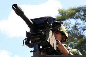 Destruyen armas en la guarnición militar