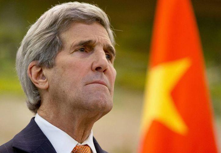 John Kerry dijo que EU hará lo que sea necesario para proteger a los estadunidenses y sus aliados en el mundo de la amenaza norcoreana. (Agencias)