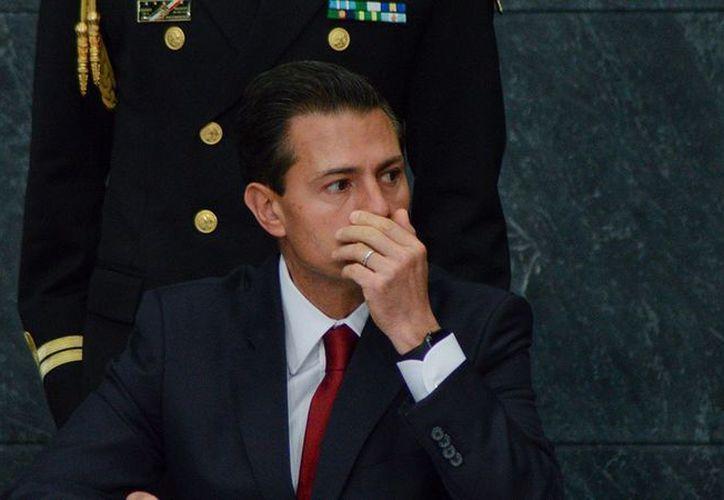 Los militantes señalaron a Peña Nieto por corrupción y violar las normas internas del partido. (El Economista)