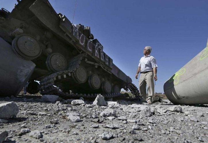 Naciones Unidas afirma que la cifra de víctimas del conflicto ucraniano ya es 'demasiado elevada'. (Archivo/AP)
