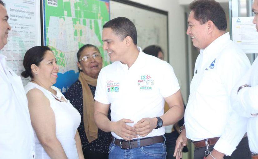 Raymundo King de la Rosa, se refirió también a la necesidad de replantear las estrategias de combate al crimen organizado. (De la redacción)