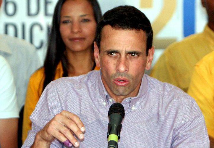 El líder de la oposición venezolana, Henrique Capriles, asegura que en Venezuela siguen creciendo las cifras de violencia y pobreza. (Archivo/Notimex)