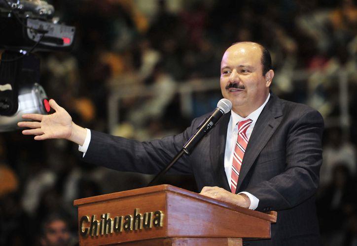 César Duarte, ex gobernador de Chihuahua, habría orquestado los delitos. (Elagora.com.mx)