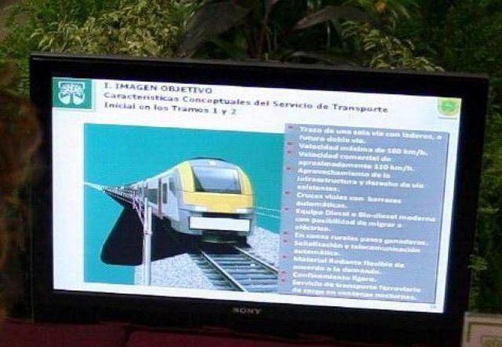 Ferrocarrileros esperan la licitación del tren transpeninsular para empezar a contratar empleados temporales para los trabajos. (SIPSE)