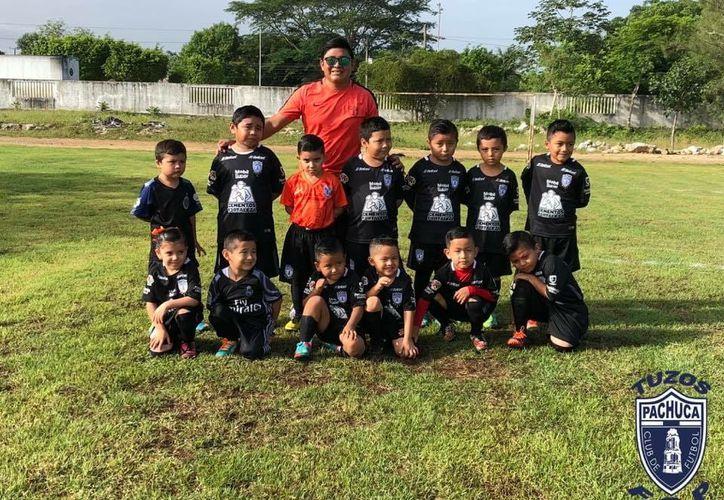 El Club Pachuca busca nuevos talentos infantiles y juveniles en la Zona Maya de Quintana Roo. (Cortesía)