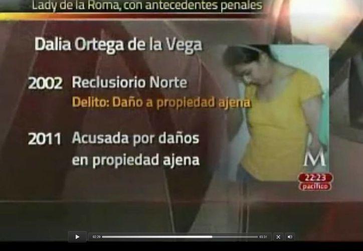 Ortega de la Vega cuenta con antecedentes penales. (Captura de pantalla)