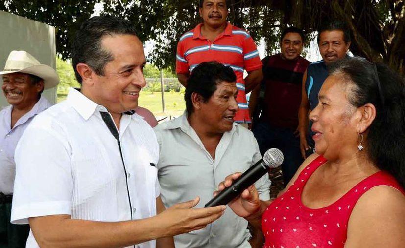 El gobernador Carlos Joaquín impulsará políticas públicas centradas en las necesidades de la gente. (Cortesía)