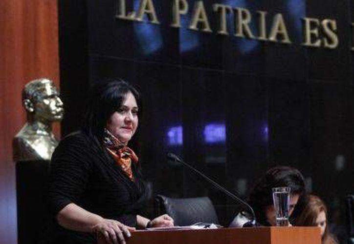 La senadora Diva Hadamira Gastélum Bajo visitará la capital el viernes próximo. (Cortesía/SIPSE)