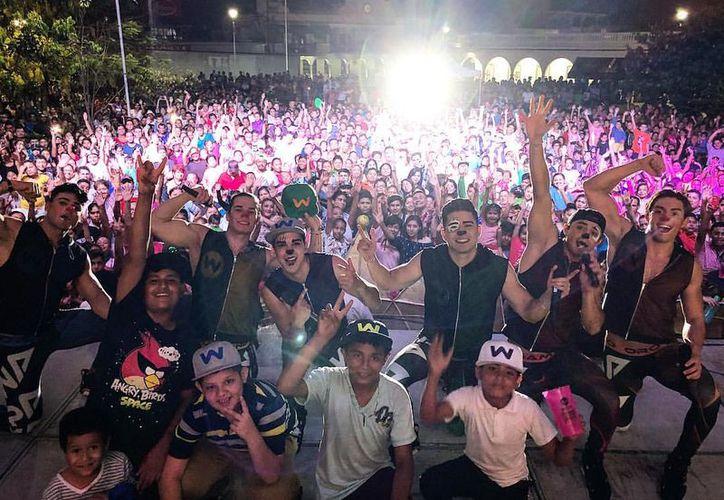 Los famosos intérpretes prometen un gran concierto en el destino turístico. (Fotos: Redacción/SIPSE)