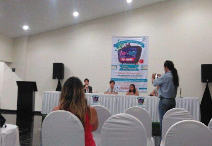 La fundación Estrellas del Mar presentó la vigésima quinta edición del festival. (Pedro Olive/SIPSE)