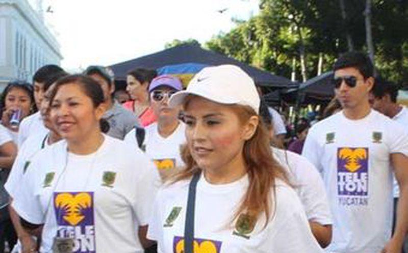 Caminata Teletón reúne a figuras del deporte   Noticias de México y ...