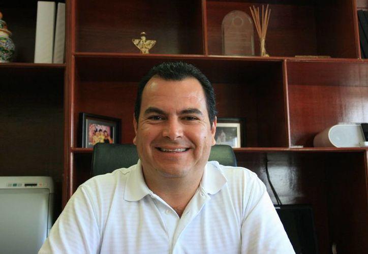 Rafael Castro Castro es el nuevo secretario general del municipio de Solidaridad. (Adrián Barreto/SIPSE)