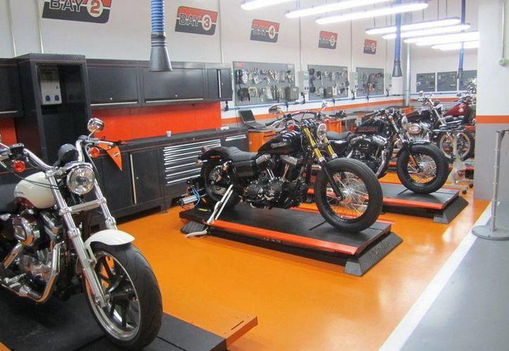 Harley Davidson, compañía mundial de motocicletas, abrió una nueva tienda en México (Foto tomada de masmoto.net)