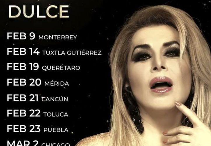 Dulce (Foto: Twitter/@LaCantanteDulce)