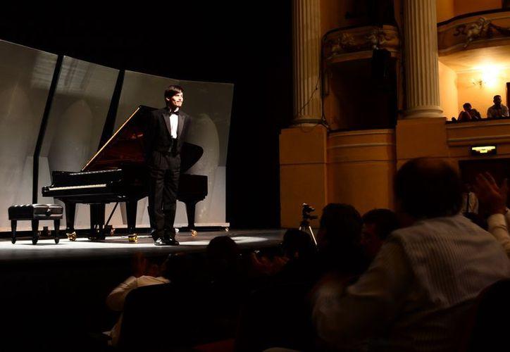 Gavin Gamboa debutó el año pasado en el mismo escenario . (Theany Ruz/SIPSE)