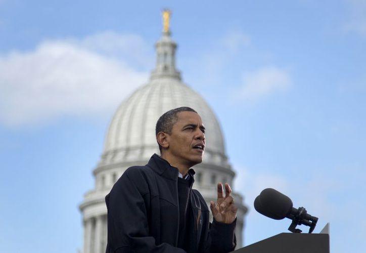 Barack Obama se mantiene firme en la conducción de Estados Unidos. (Agencias)