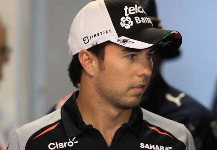 Pérez Mendoza empezó en 2011 con la escudería Sauber en 2013 estuvo en McLaren y desde 2014 está en Force India, llamado ahora Racing Point Force India. (Internet)