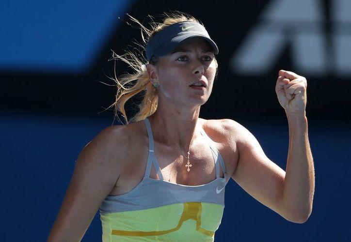 Sharapova ganó el Abierto de Australia en 2008. (Agencias)