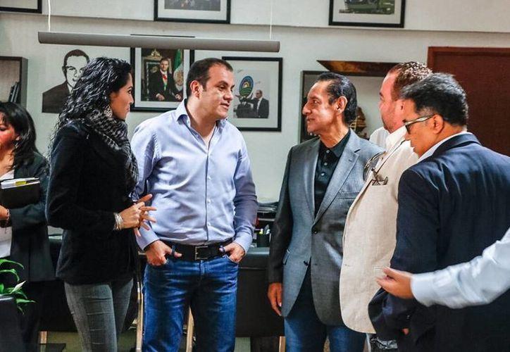 El alcalde de Cuernavaca, Cuauhtémoc Blanco Bravo, está de nuevo en el centro de la polémica. En esta ocasión, se investiga si presentó documentos falsos al INE. (Municipio de Cuernavaca/Facebook)