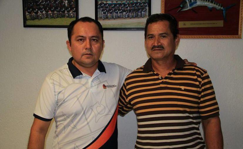 Se reúne Martin Cobos con Manuel Rentería para rescatar el espectáculo. (Redacción/SIPSE)