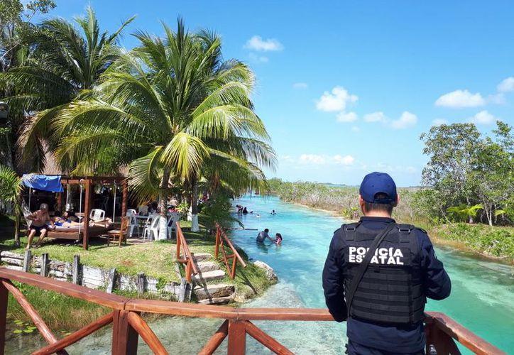 Bacalar tendrá próximamente su propia Policía Turística. (Javier Ortiz/SIPSE)