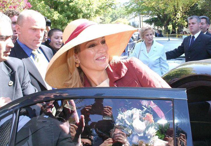 Fotografía tomada en marzo de 2006 a la argentina Máxima Zorreguieta, nuera de la reina Beatriz de Holanda. (EFE/Archivo)