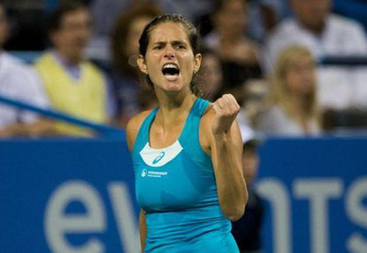 Goerges logró ingresar en el Top Ten de tenis (wtatennis.com)