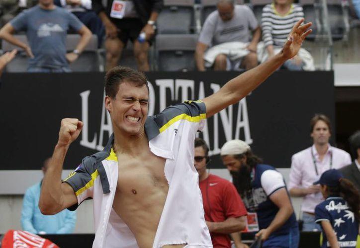 El polaco Jerzy Janowicz ocupa el lugar 24 en el ranking mundial de la ATP. (Agencias)