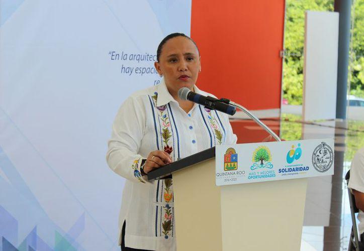 El próximo domingo, será su último día de la alcaldesa al frente de la administración. (Adrián Barreto/SIPSE)