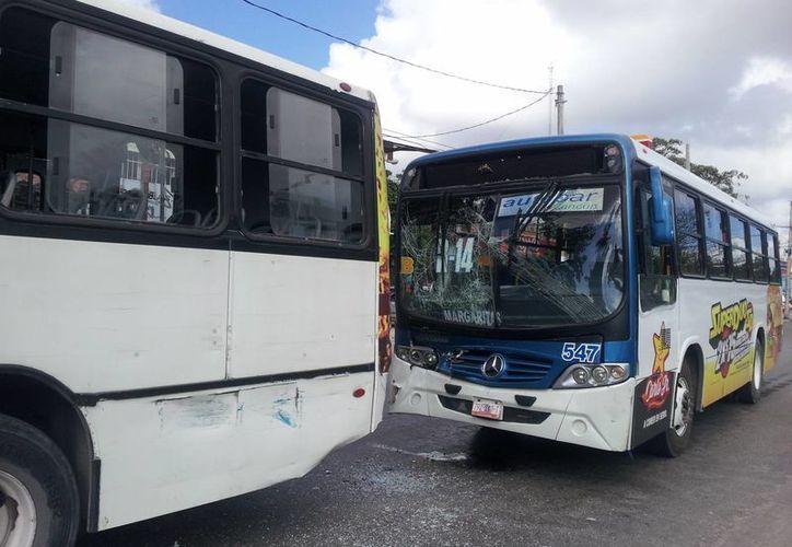 El presunto responsable del accidente es José Fernando Loría Ramírez, conductor de la ruta 14. (Redacción/SIPSE)