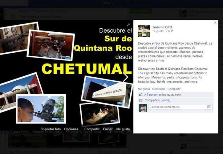 Difunden los mensajes en español e inglés en las redes sociales. (Redacción/SIPSE)