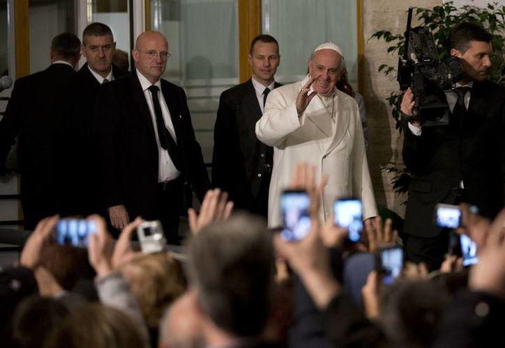 La Iglesia mexicana ya trabaja en coordinación con las autoridades de seguridad para la próxima llegada del Sumo Pontífice. (AP)