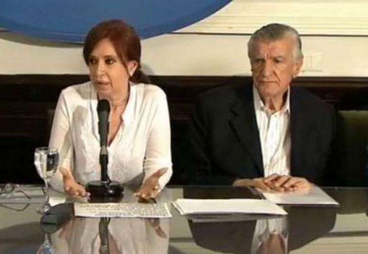 La ex mandataria aseguró que hay una persecución inaudita de la oposición en tiempos de democracia. (Foto: Aristegui Noticias)