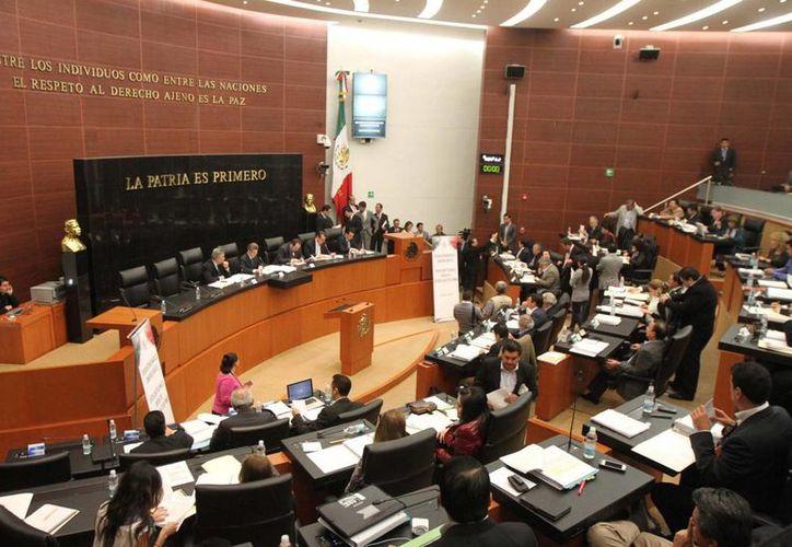 El PRI asegura que la reforma garantizará el desarrollo nacional por un siglo. (Notimex)