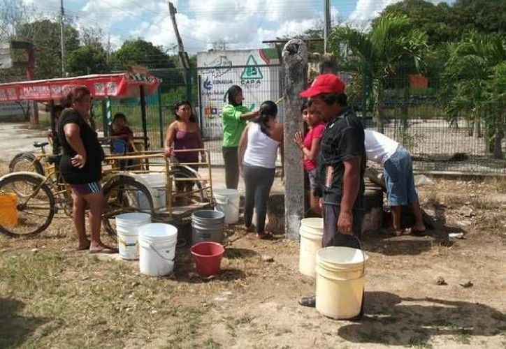 Los proyectos beneficiarán a los habitantes de varias colonias. (Redacción/SIPSE