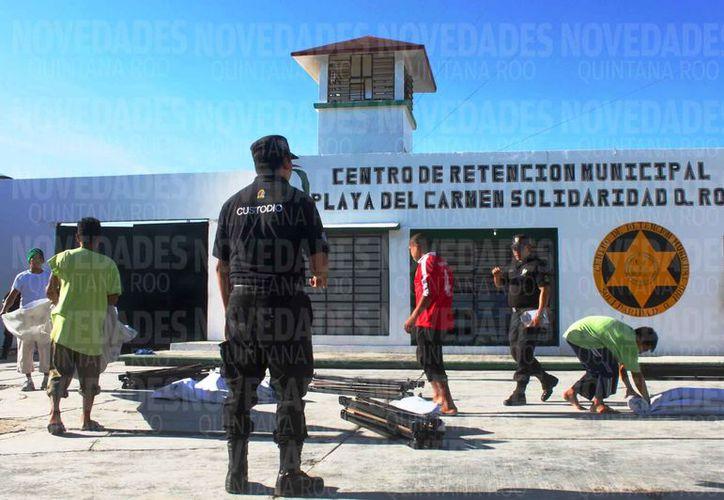 El Centro de Retención Municipal tiene déficit de custodios. (Daniel Pacheco/SIPSE)