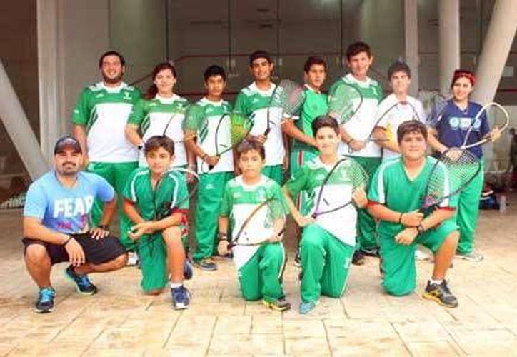 La selección yucateca de raquetbol    competirá contra selecciones de Nuevo León, Jalisco, Sonora, Chihuahua y San Luis Potosí. (Milenio Novedades)