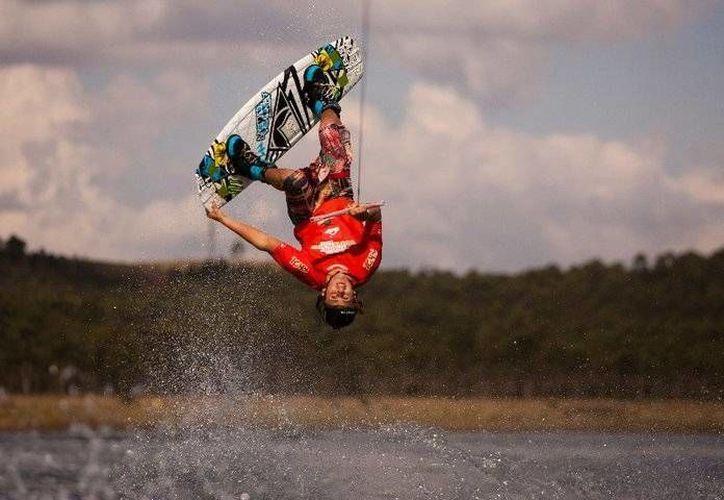 El evento de Wakeboard se realizará del 3 al 5 de octubre en las playas de Cancún. (Foto/Internet)