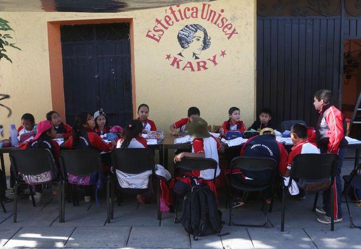 Se reanudaron las clases en la mayor parte de Oaxaca. (Cuartoscuro)