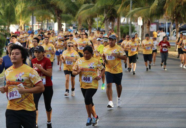 Participaron en el evento alrededor de 500 atletas. (Raúl Caballero/SIPSE)