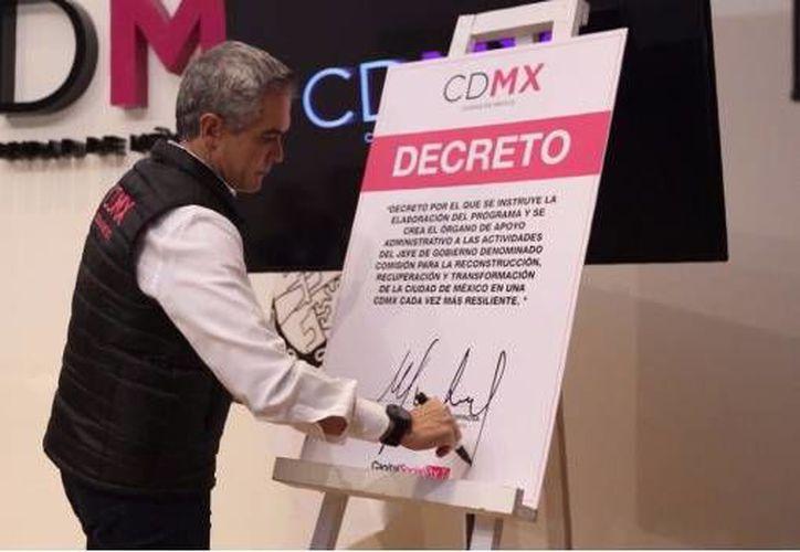 El plan consiste en la creación de la Plataforma CDMX (@ManceraMiguelMX))