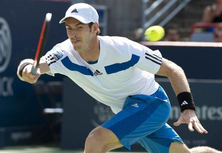 Andy Murray no pudo conseguir su tercera corona en el torneo canadiense.  (Agencias)