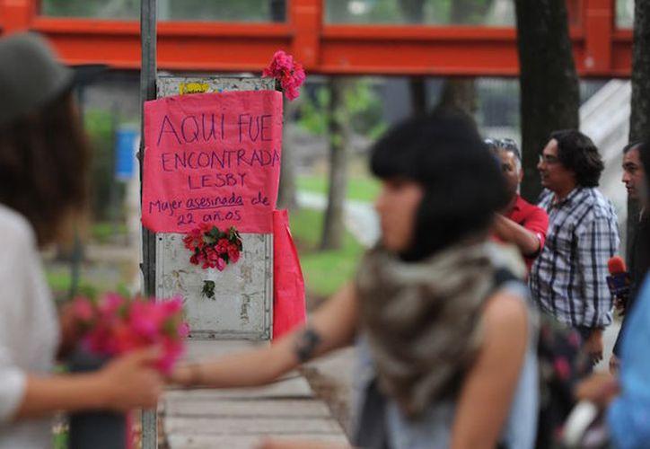 Las autoridades determinaron que, Lesvy, la joven que fue hallada sin vida en las instalaciones de la UNAM se suicidó. (Sin Embargo)