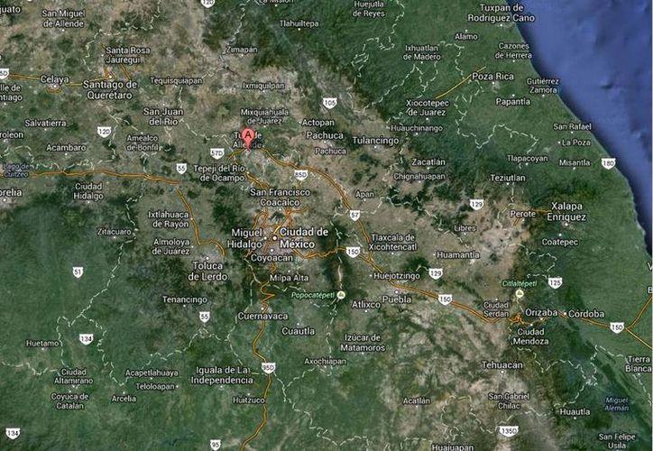 El incidente en la termoeléctrica de Tula se produjo cuando los trabajadores hacían labores de mantenimiento y soldadura. (Google Maps)